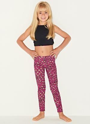 Legging-Bambini-Leopardo-Pink