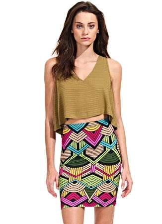 Saia-Mini-Stretch-Africa-Tribal-Color
