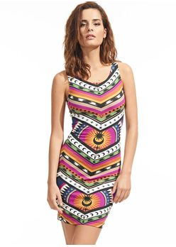 Vestido-Mini-Stretch-Ethnic-Solar
