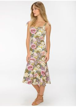 Vestido-Midi-Bia-Floral-Summer-Camelo