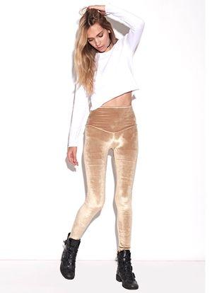 Legging-Igy-Gold-Veludo