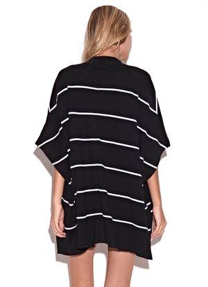 Costas-Colete-Knit-Stripes-Preto