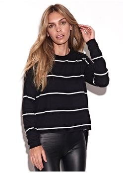 Malha-Knit-Stripes-Preto