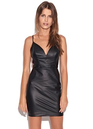 Mini-Dress-Vegan-Preto