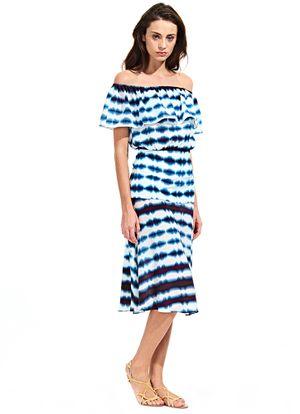 Frente-Blusa-Ombro-Babado-Saia-Midi--Tie-Dye-Blue-Listras